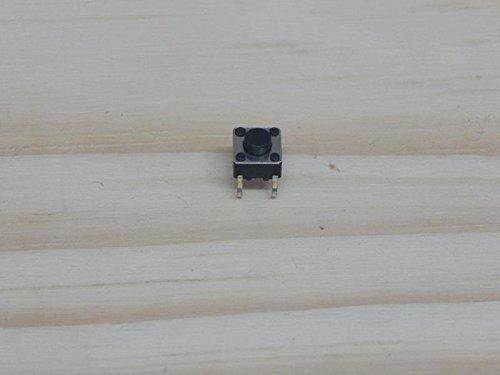 SODIAL(R) Lot de 5 mini interrupteurs SPST à bouton-poussoir PCB - 10Pcs-A