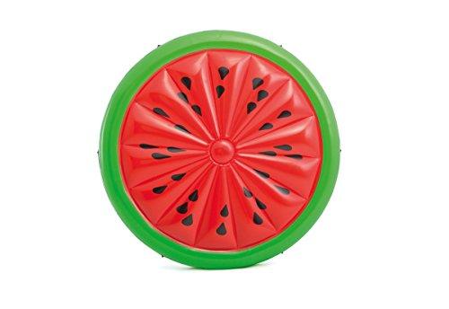 Intex aufblasbare Badeinsel Schwimminsel Wassermelone 183x23cm