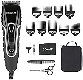 Conair Barbershop Series No-Slip Grip 20-piece Home Haircut Kit