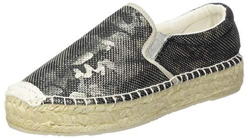 Replay Damen NASH-Spider Espadrilles, Silber (Silver 50), 40 EU