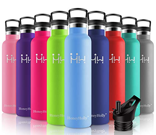 Botellas De Agua Acero Inoxidable Para Niños Marca HoneyHolly