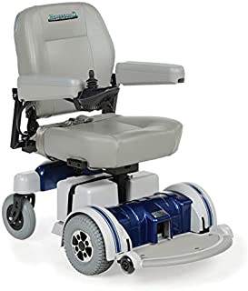 Hoveround Electric Wheelchair - Motorized Power Chair and Mobility Scooter | LX-5 Blue Trim, 20-inch Large Adult Seat