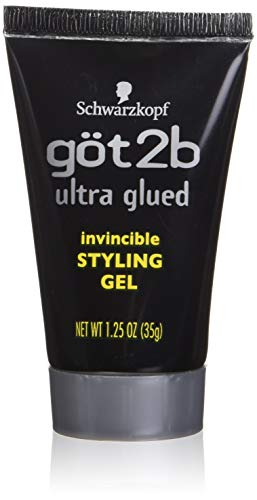 Got 2b Ultra Glued Invincible Styling Gel, 1.25 Ounce