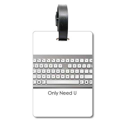 Programmer Keyboard Only Need U Cruise Koffer Bag Tag Tourister Identification Label