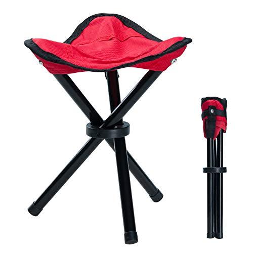 /Silla de camping Tres Patas taburete de 28/cm asiento altura handliche 275/g ligeramente de 3/patas Taburete/ Taburete de tres patas para plegable aluminio