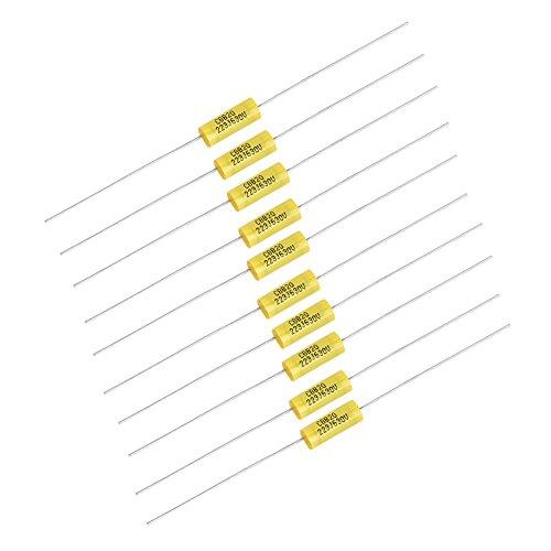 10 Piezas Kit de Condensadores de Película 630V 0.022uF Con