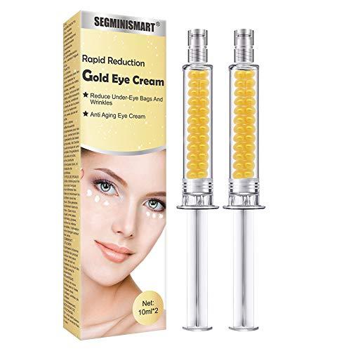Crema de Ojos,Crema para los Ojos,Contorno de Ojos Anti Edad,Serum Contorno de Ojos Anti arrugas,Elimina la hinchazón,Relleno reafirmante para los ojos