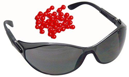 NICK and BEN Blade Black Sport Sonnenbrille Schutzbrille Softair Airsoft Zubehör Brille Zertifiziert