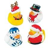 Baker Ross X275 Weihnachtsenten, sortiert, 4-er Pack