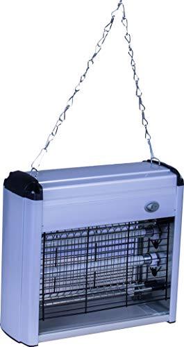 Zanzatrap Piège anti électrique 20 watts avec deux lampes à mouches moustiques