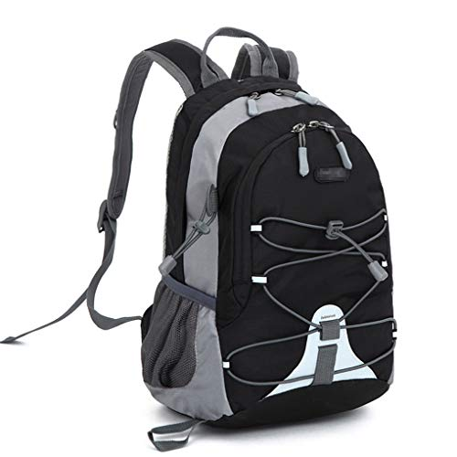 Xindiqiu Mochila 10 litros Impermeable Paquete de Camping para Deportes al Aire Libre Mochila de Escalada Montañismo Mochila de Trekking para Niños Hombres Mujeres (33 x 23 x 17CM)