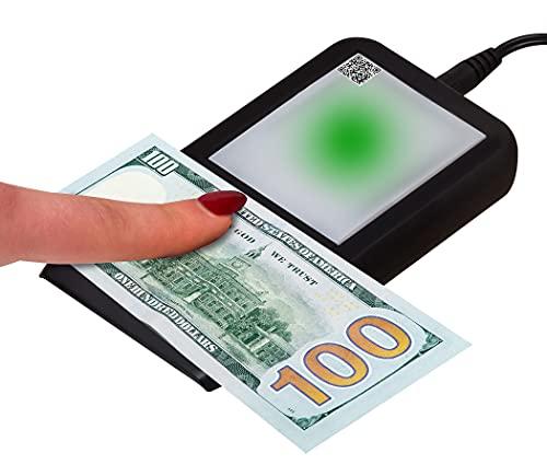 Dri Mark Flash Test Counterfeit Bill Detector, Smallest, Easiest Money Checker, Fake Currency Detection Machine, Ink, UV, and Watermark Flashtest