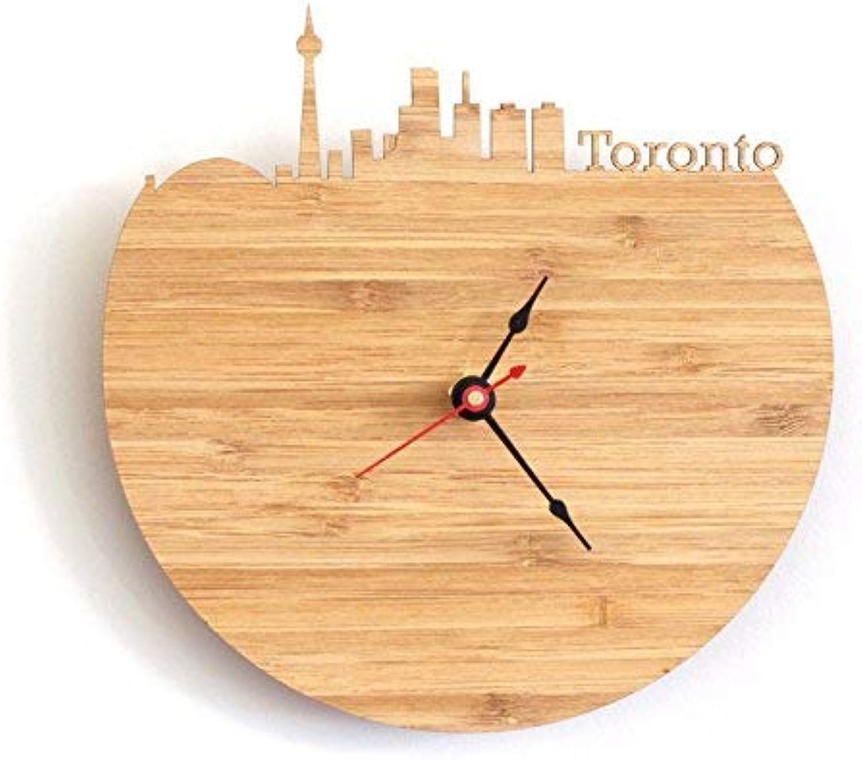 punto de venta Oudan Reloj de Parojo Movimiento silencioso silencioso silencioso Reloj de Parojo Decoración de Oficina en casa para Sala de Estar Dormitorio y Cocina Reloj Color de Parojo Mesa de Parojo Cuarzo, 12 in  tienda de venta