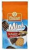 Brandt Mini Vollkorn -Zartbitter-Zwieback, 12er Pack (12 x 125 g Packung) -