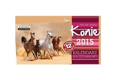 Kalendarz pocztĂlwkowy Konie 2015