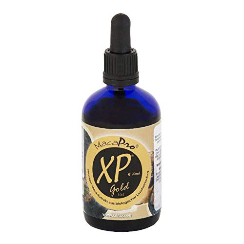 Liquid maca Extract Peruvian Pepper MacaPro XP Gold Extract 10:1 90ml Uhtco