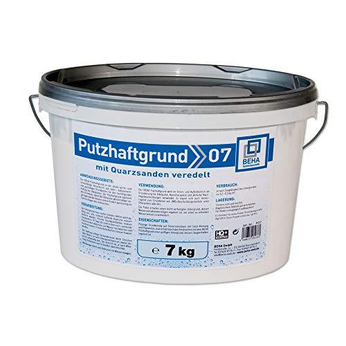 Putzhaftgrund PG7 Quarzsand Grundierung Putzgrund 7kg Quarzgrund Voranstrich