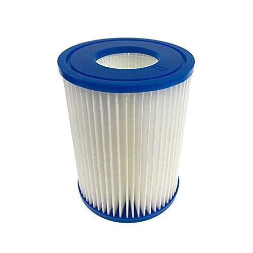 GAODA Pool-Filterkartusche Typ II, für Bestway Filterpatrone II, Kartuschen maßgefertigt für Bestway Swimming Pool 530/800 gal/h Filter Flowclear Pumpe, Größe 10,6 x 13,6 cm.