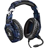 Trust Gaming GXT 488 Forze-B [ Officially Licensed for PS4 ] Gaming Headset