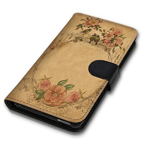 wicostar Funda estilo libro para teléfono móvil, diseño MVB-35 compatible con HTC 10