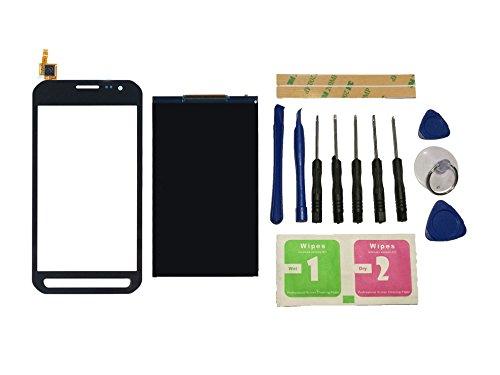 Flügel für Samsung Galaxy Xcover 3 G388 G388F Display LCD Ersatzdisplay + Touchscreen Digitizer Bildschirm Schwarz Glas (ohne Rahmen) Ersatzteile & Werkzeuge & Kleber