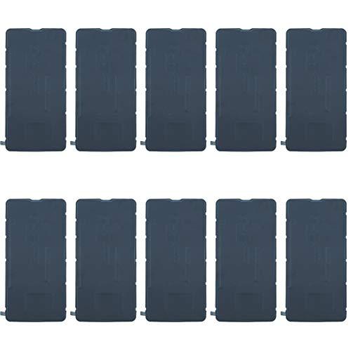 YIJINYA ESHOP Piezas de repuesto para teléfono móvil, 10 unidades, adhesivo para carcasa trasera de batería para HTC U Ultra