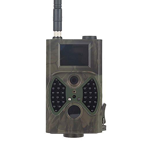 BFZJ Wildlife Trail Kamera 2G, 1080P 12MP Jagdkamera Falle mit Infrarot-Nachtsicht E-Mail MMS GSM Wildkamera for Home Security Surveillance (SD-Karte enthalten)