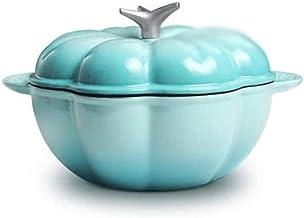 GPWDSN Stock Pot, Stijlvol en schattig, Precisie gietijzer Pot, Lock Heat Behoud, Geïntegreerde Pot Ear