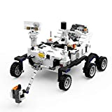 NASA Mars 2020 Perseverance Rover Building Blocks, Space Exploration Program Building Kit Sets, Creative Mars Science Building Bricks Toy Model Gift for Kids and Adults(672 Pieces)