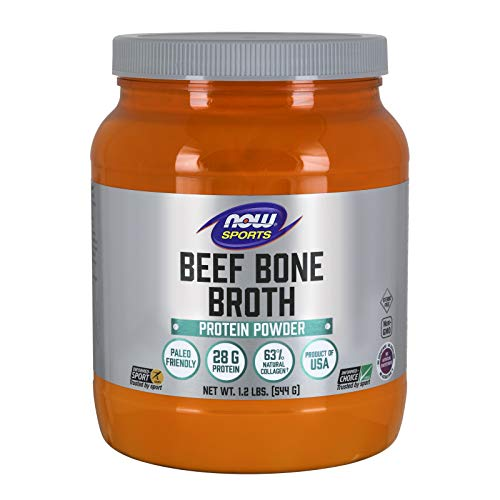 Now Beef Bone Broth Powder 1.2 lbs