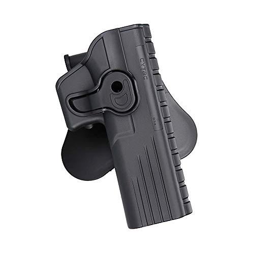 gaucher One Piece Holster Glock 17//19//22//23//26//27//31//32 Noir