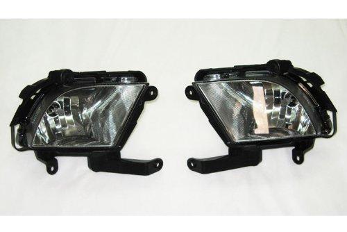 Kia Motors Genuine Left Right Side Fog Lights Lamp Assembly 2-pc Set For 2008 2009 2010 Kia Forte : All New Cerato