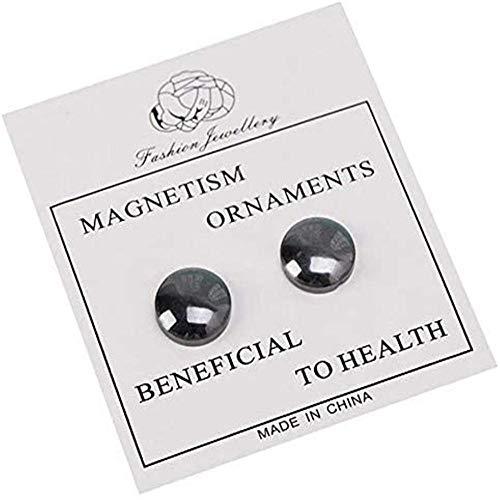 X1n design 10 Paar biomagnetische Gesundheit Pflege Gewichtsverlust Ohrringe, Patch schlanke Körper Shaper Yoga Diät, gesunde Gewichtsverlust Schmuck magnetische Ohrringe, Hilfe Abnehmen 8pair