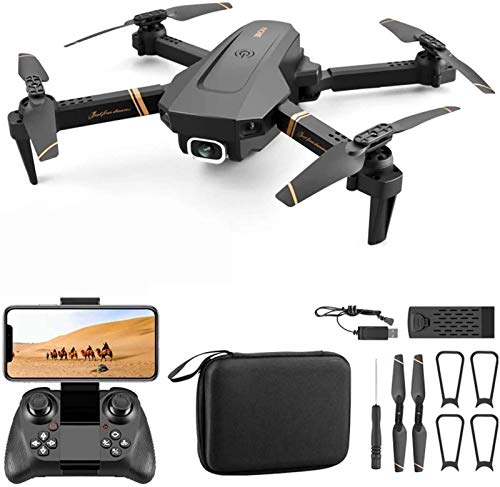 QSSQ Foldable Drones with Camera for Adults, RC Quadcopter with Altitude Hold, Durable, Ultra Long Life with Best Gift and Toys for Children,4k