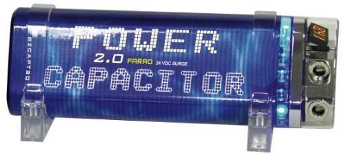 Blitz 2 Farad Triangular Car Audio Power Capacitor