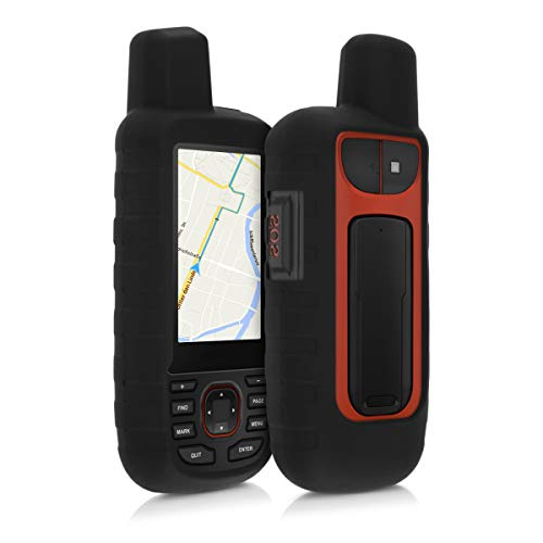 kwmobile Cover in silicone compatibile con Garmin GPSMAP 66i - Custodia protettiva antiscivolo...