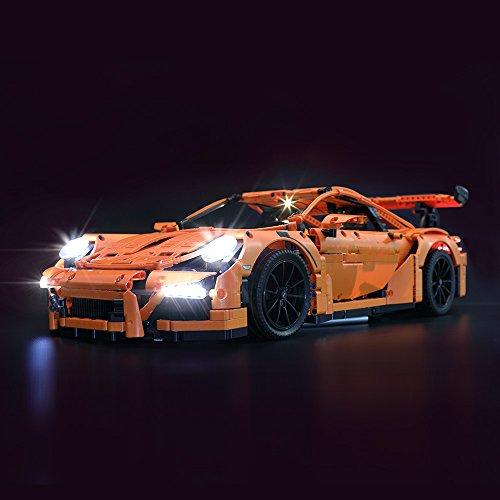 LIGHTAILING Licht-Set Für (Porsche 911 GT3 RS) Modell - LED Licht-Set Kompatibel Mit Lego 42056(Modell Nicht Enthalten)