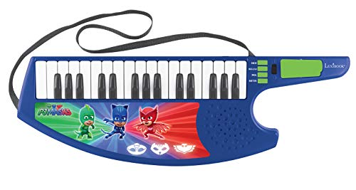 PJ Masks Lexibook K280PJM Catboy Umhängekeyboard mit Verschiedenen Melodien, 8 Motive Musik, 19 Demo-Songs, Blau/Rot