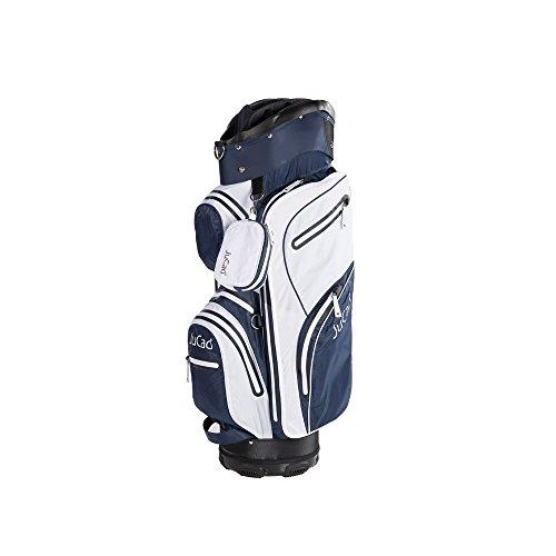 JuCad Golf Bag Aquastop wasserdicht Golfbag Farbe: weiss-blau