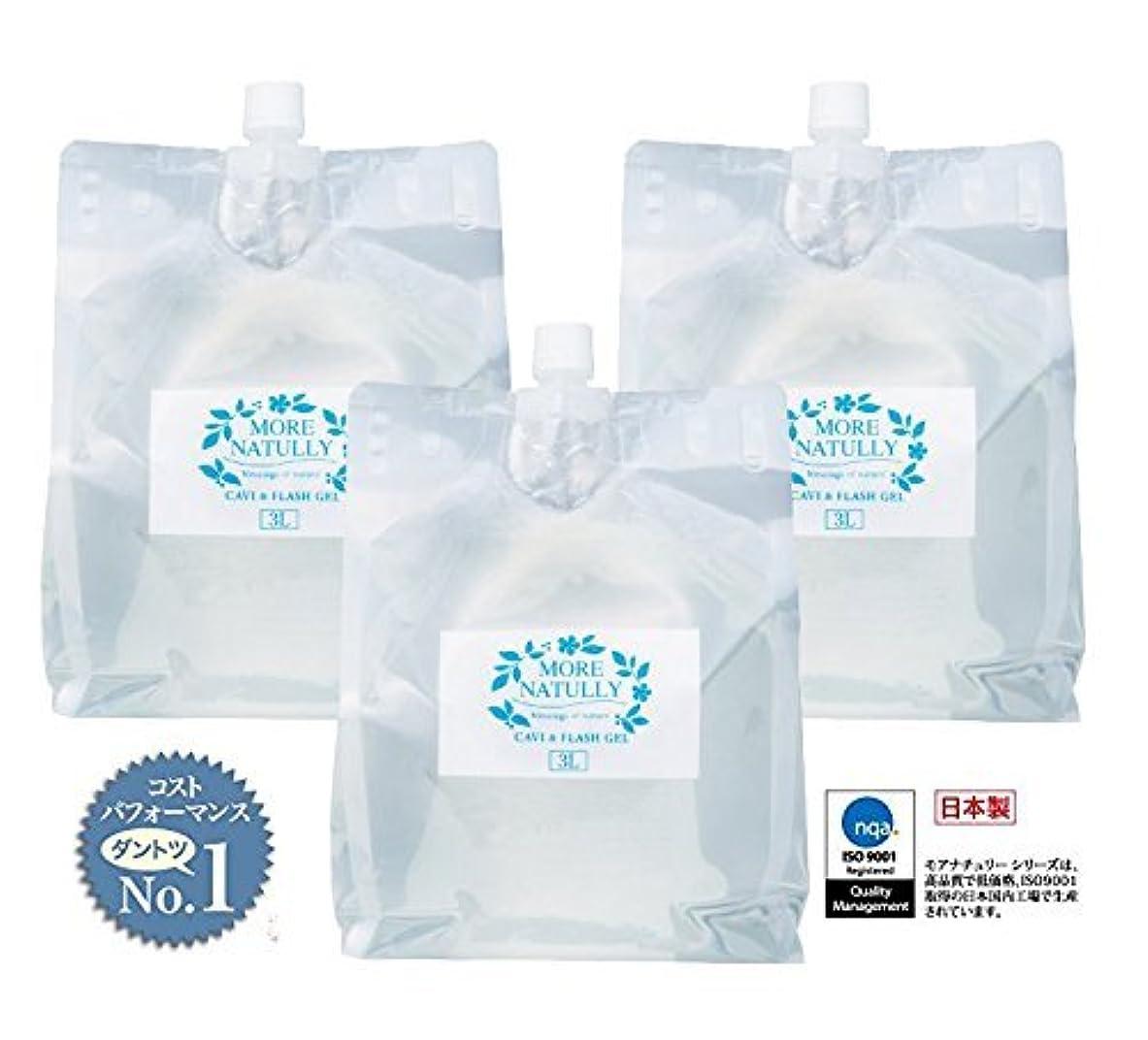 困惑するプレート稚魚モアナチュリー キャビ&フラッシュジェル 【ソフト】3kg×3袋
