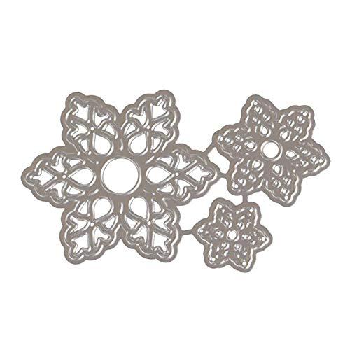 Flower Petal Die Cuts for Card Making Metal Cutting Dies Stencil Template for Scrapbooking, Photo Album Paper DIY Crafts