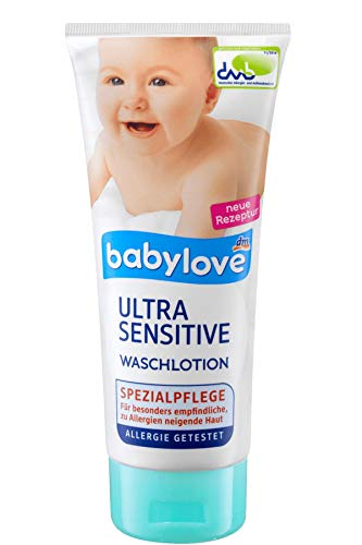 babylove Waschlotion ultra sensitive, 200 ml