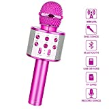 LetsGO toyz Gifts for 4-12 Year Old Girls, Wireless Bluetooth Microphone for Kids Toys for 4-12 Year Old Girls...