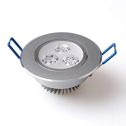 Wonderday 9 W/15 W/21 W LED warmwitte plafondlamp, niet dimbare wandlampen-inbouwspot voor het creëren van een warme sfeer.
