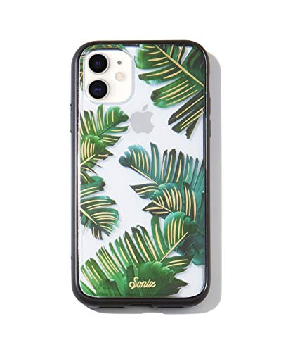 Sonix Bahama Case for iPhone 11 [Military Drop Test Certified] Protective Palm Leaves Clear Case for Apple iPhone XR, iPhone 11