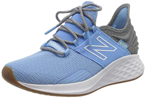 New Balance Women's Fresh Foam Roav V1 Sneaker, Team Carolina/Light Aluminum, 6.5