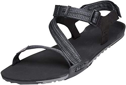 Xero Shoes Z-Trail - Women's Lightweight Hiking and Running Sandal - Barefoot-Inspired Minimalist Trail Sport Sandals - Multi-Black