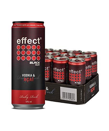 effect Black Acai & Vodka, Premix in der Dose (1 x 12 x 0.33l)