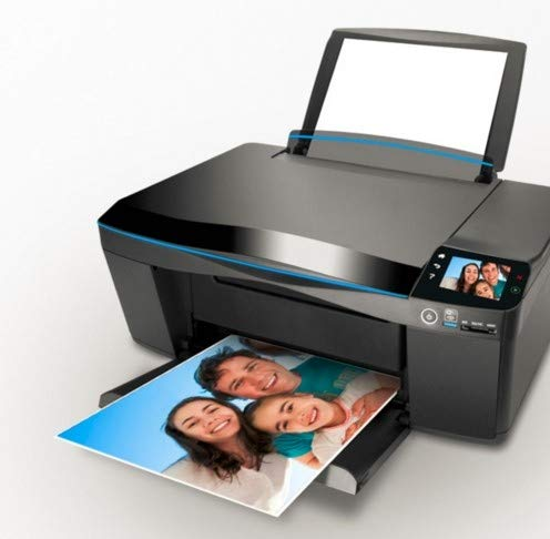 Hmg 100 PCS Papel de impresión de inyección de Tinta de 6 Pulgadas Papel fotográfico Color Recubierto a una Cara Impresión Resaltado Papel Luminoso Resistente al Agua