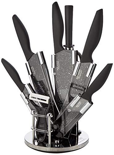 Ross Henery Professional Knives, 8 Piece kitchen knife set in stylish Acrylic Block set